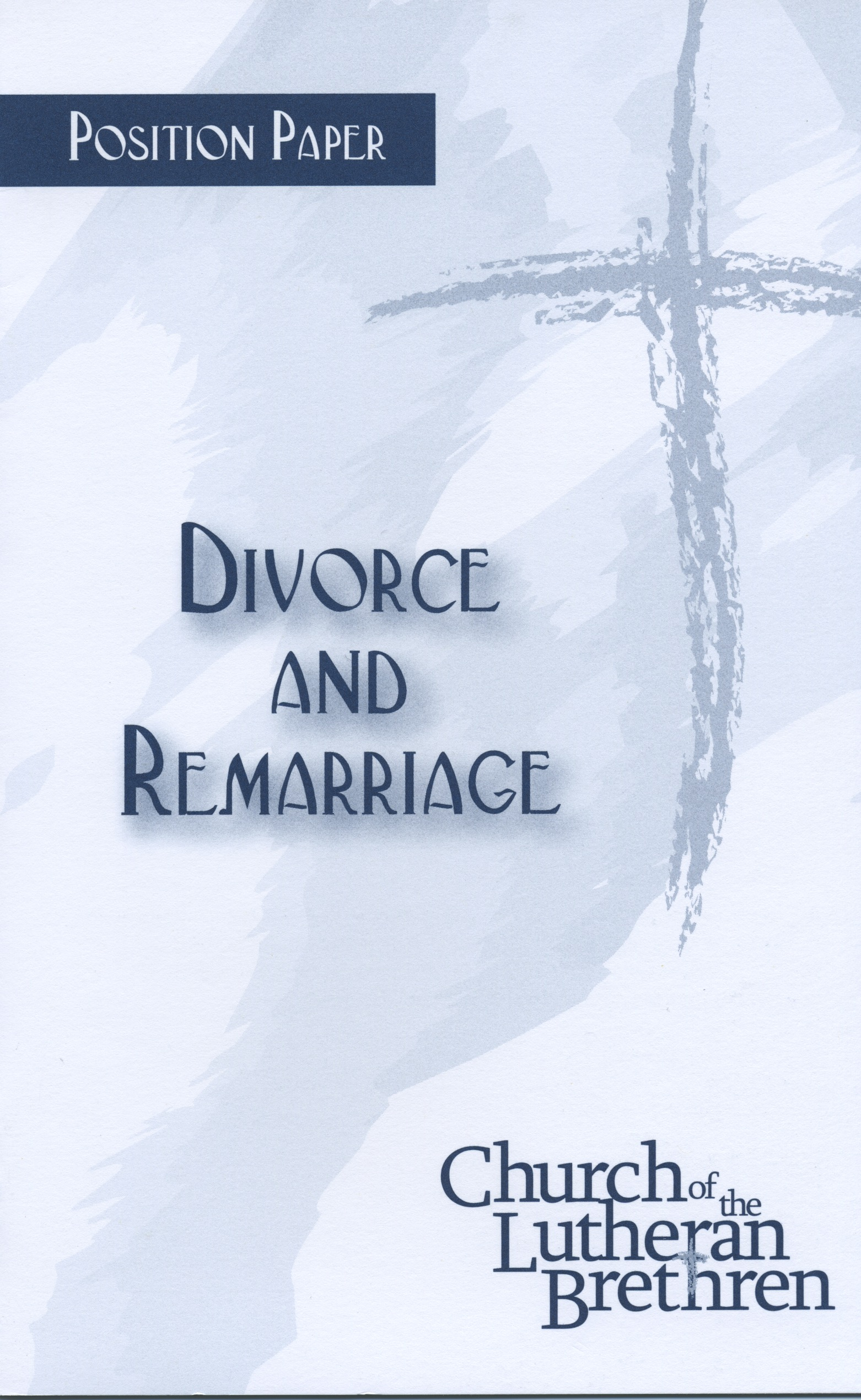 term paper on divorce and remarriage