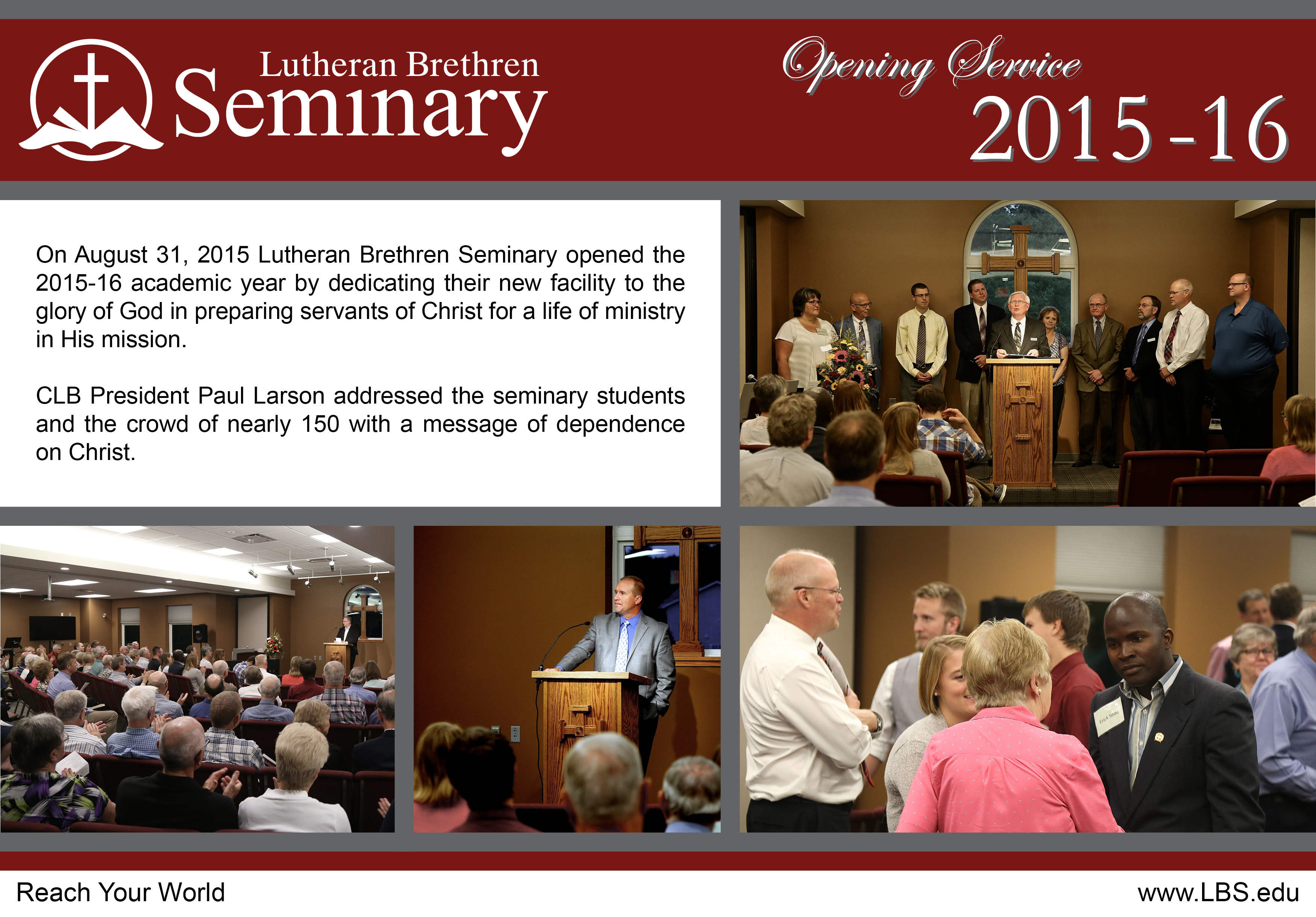 LBS Opening Service