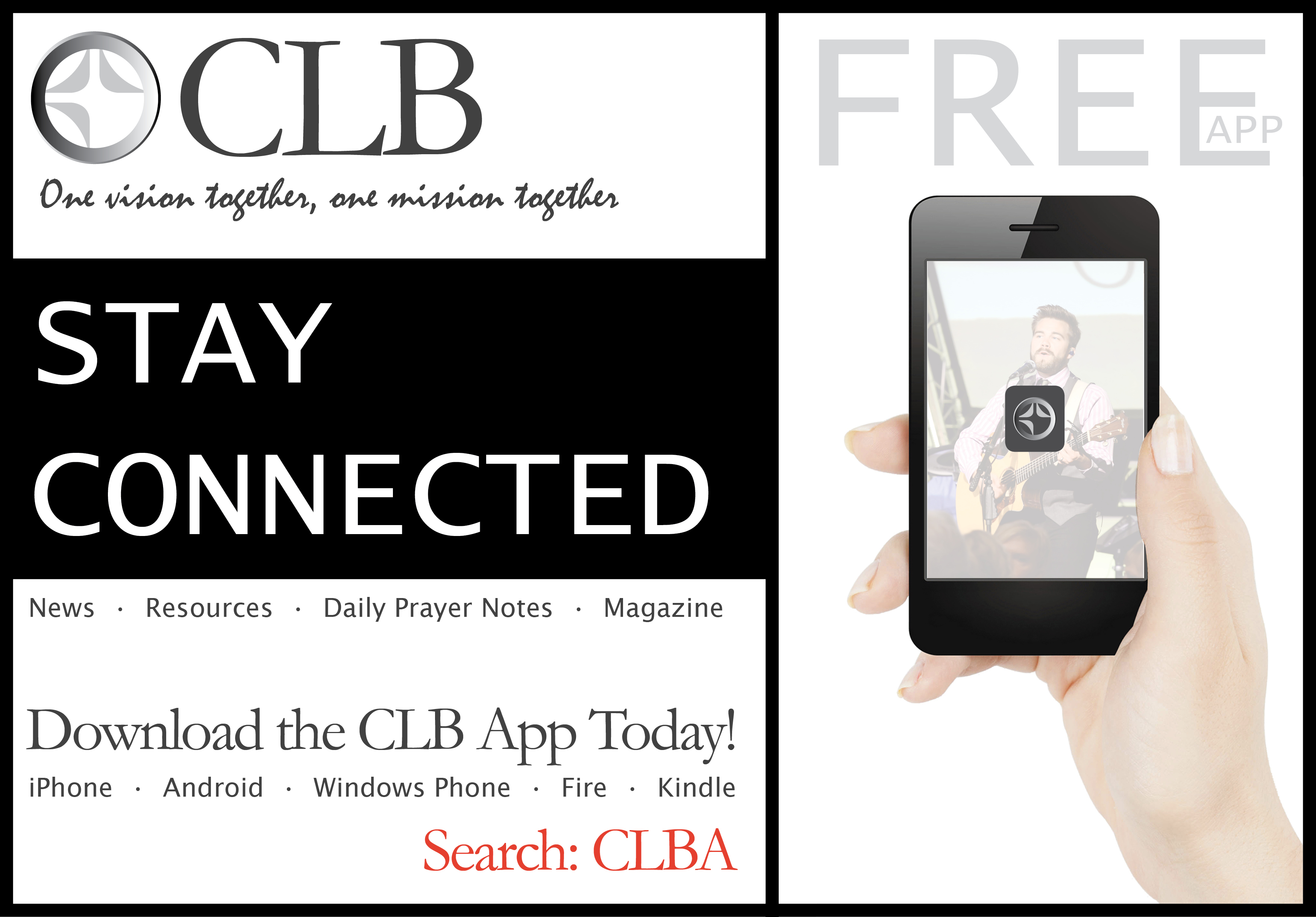 CLB App (Stay Connected)