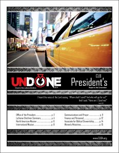 BC16 Report from the President (Cover)