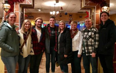 Christmas with family in Eau Claire, WI