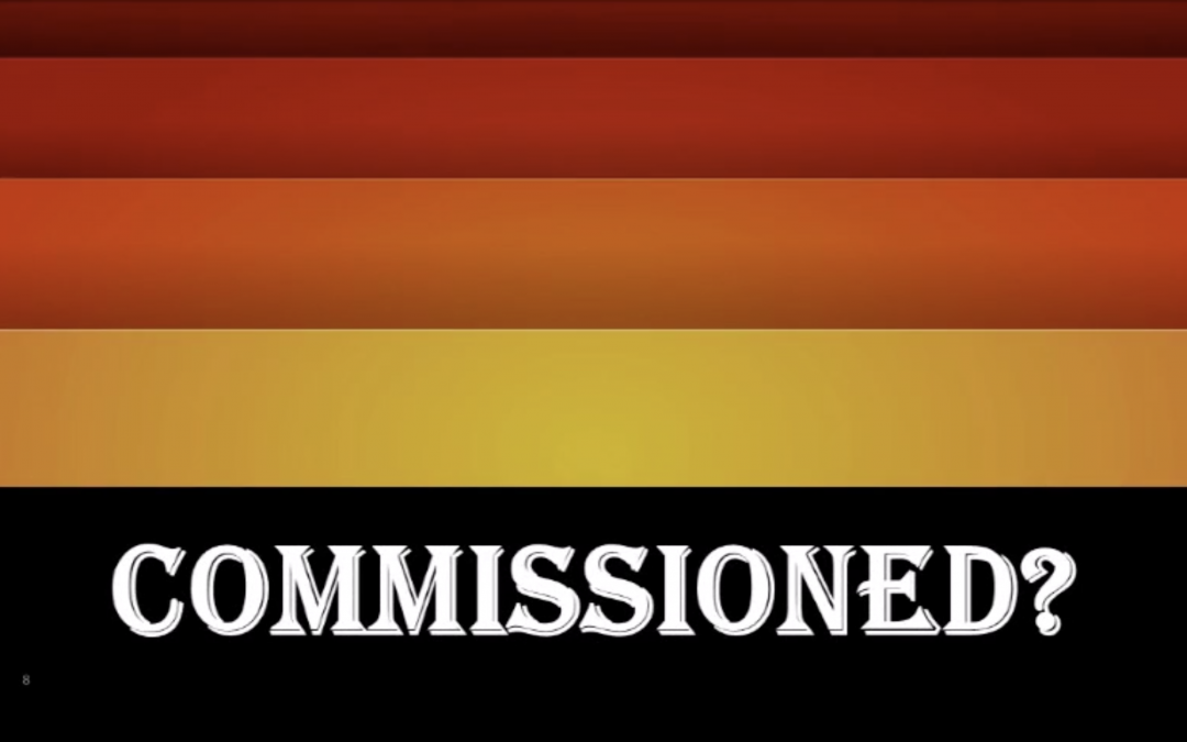 Commissioned?